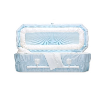 Blue Cloud Child Caskets