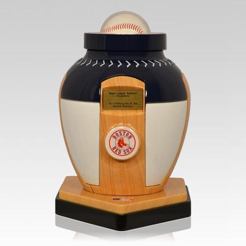 Boston Red Sox Baseball Cremation Urn