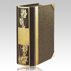 Ivy Book Bronze Cremation Urn