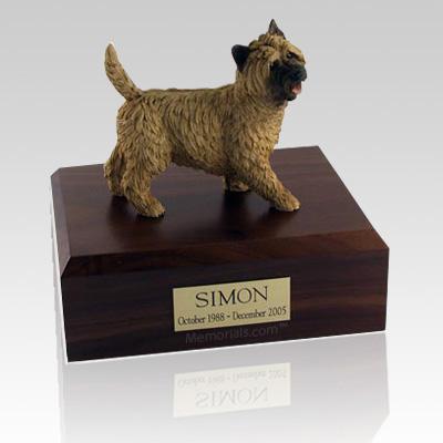 Cairn Terrier Walking X Large Dog Urn