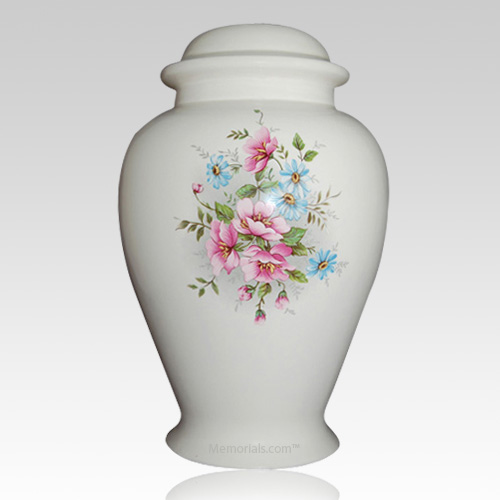 Country Blossom Cremation Urn