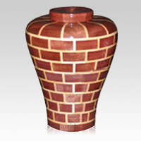 Fitzgerald Large Wood Urn