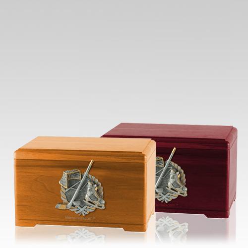 Ice Hockey Cremation Urns