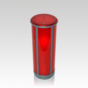 Red Legacy Memorial Candle