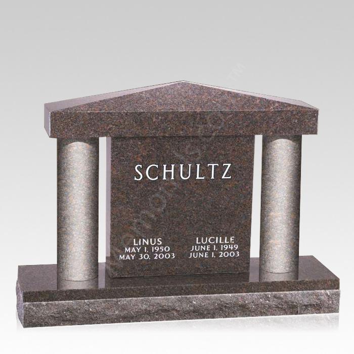 Sanctus Upright Cemetery Headstone