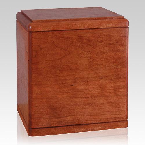 Presidents Cherry Wood Cremation Urn