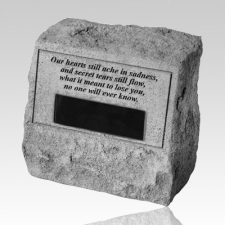 Our Hearts Cremation Stone Rock