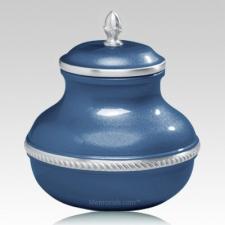 Blue Pastel Pet Cremation Urn
