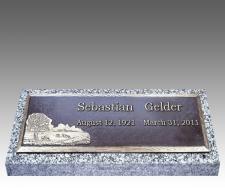 Companion Bronze Grave Markers III