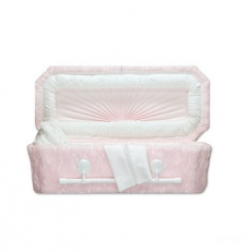 Pink Deluxe Child Caskets