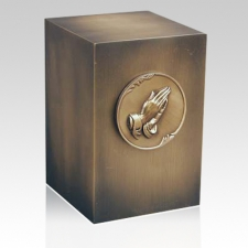 Relic Prayer Bronze Urn