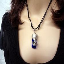 Angel Pet Blue Remembrance Necklace