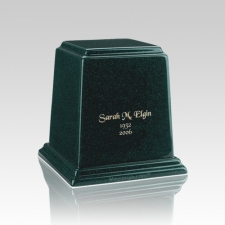 Temple Emerald Mini Marble Urn
