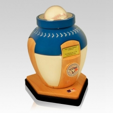 Toronto Blue Jays Baseball Cremation Urn