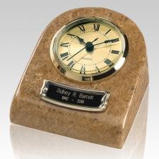 Marble Clock Earth Keepsake Urn