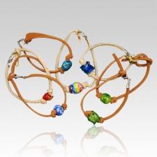 Memory Collection Bead Ash Bracelets II