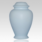 Classic Blue Ceramic Cremation Urn