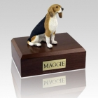 Beagle Sitting Dog Urns
