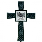 Black Photo Celtic Pet Memorial Cross