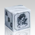ABC Angel Block Marble Urn