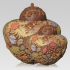 Bouquet Ceramic Cremation Urns