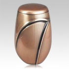Bronze Wave Cremation Urn