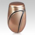 Bronze Wave Cremation Urn