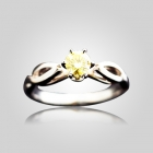 Cathedral Solitaire Ring