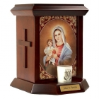 Immaculate Heart Vatican Cremation Urn