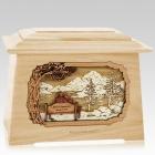 Infinitely Maple Aristocrat Cremation Urn