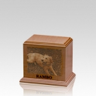 Laser Etched Small Cherry Pet Urn