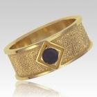 Onyx 14k Yellow Gold Ring Print Keepsake