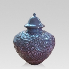 Plum Pet Cremation Urn