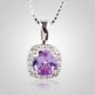 Radiant Light Amethyst Keepsake Jewelry