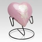 Rose Heart Cremation Urn