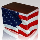 Patriotic Child Cremation Urns II