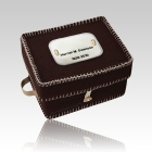 Infant Brown Woolen Casket