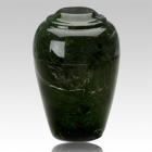 Grecian Verde Marble Cremation Urns
