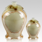 Light Green Star Onyx Cremation Urns