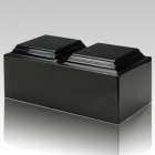 Orca Black Granite Companion Cremation Urn