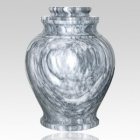 V Marble Cremation Urn