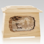 Deer Maple Aristocrat Cremation Urn
